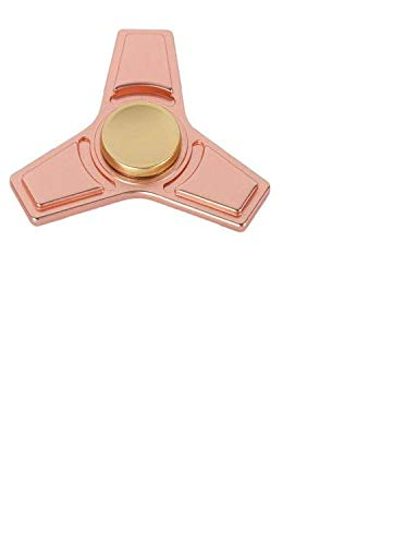 SUNKONG Spinner Fidget Toy Triangle Hand Spinner Fidget ADHD Focus Toy High Speed 2-6 Minutes Per Spins Ultra Durable Material(Bright Pure Copper)