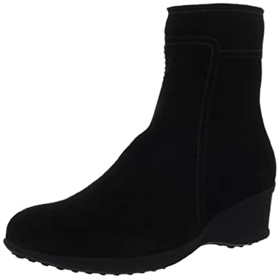 La Canadienne Women's Finley Ankle Boot,Black,6 M US