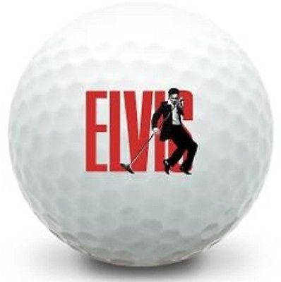 1 Dozen (Elvis Logo) Callaway Supersoft Brand New Golf Balls
