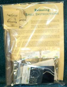 Fortune Telling Toys Magic Spell Kit Releasing Baggage Mind Body Spirit Be Free