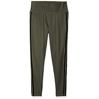 adidas Women's Believe This 2.0 AEROREADY 3-Stripes 7/8 Workout Training Yoga Pants Leggings, Legacy Green/Black, 2XS