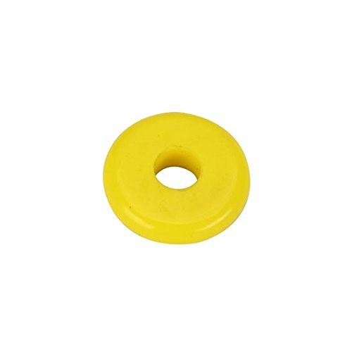 5/8 Inch Shaft Roller Bump Stop Puck, 1 Inch Thick, 70 Durometer Speedway Motors