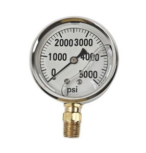 GAUGE-5000 PSI LIQUID FILL SS CASE (Fill Ss Gauge Liquid)