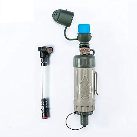 ALXDR Filtro de Agua Personal Paja con purificación física de 3 ...