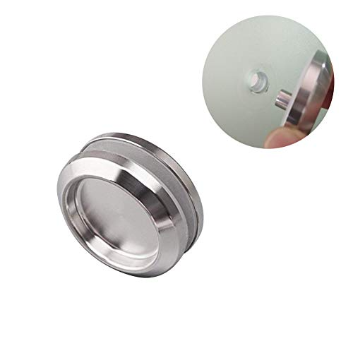 (Whale GoGo 1 Piece Stainless Steel Sliding Door Handle Bathroom Glass Door Pull Knob)