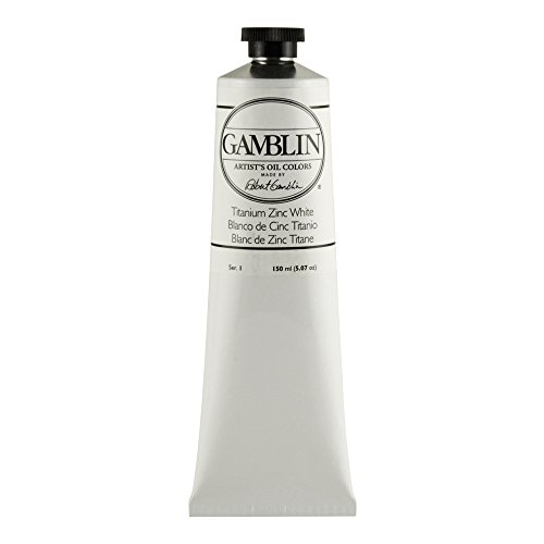(Gamblin Artist Oil Color - Titanium White - 150 ml Tube)