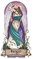 - Jessica Galbreth - Angel Virtues Hope Fairy - Sticker/Decal