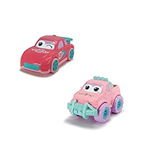 Dickie Toys - Happy Friends 11 Inch Preschool Trucks 2 Pack