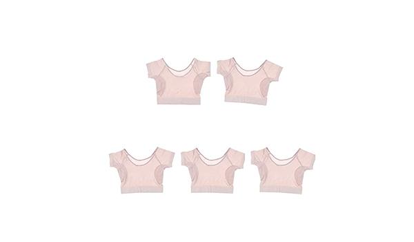 5 Unids Invisible Camiseta Funcional Sudor Axilar/Ropa ...
