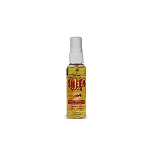 Black Queen Carrot Oil Sheen Spray All Human and Synthetic Hair 2oz (Black Queen Carrot Oil Spray compare prices)