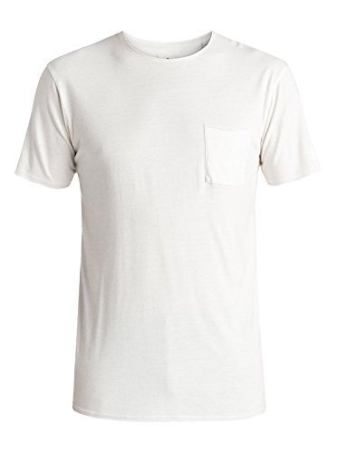 Quiksilver Mens The Organic - Pocket T-Shirt Pocket T-Shirt White L