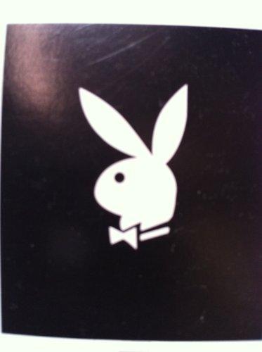 "Playboy Bunny Black Throw Blanket 50""x60"""