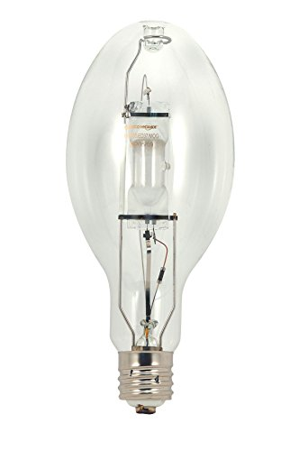 HyGrade MH250/ED28/U/4K HID Metal Halide, 250W E39 ED28, Clear Bulb [Pack of 12] by SATCO
