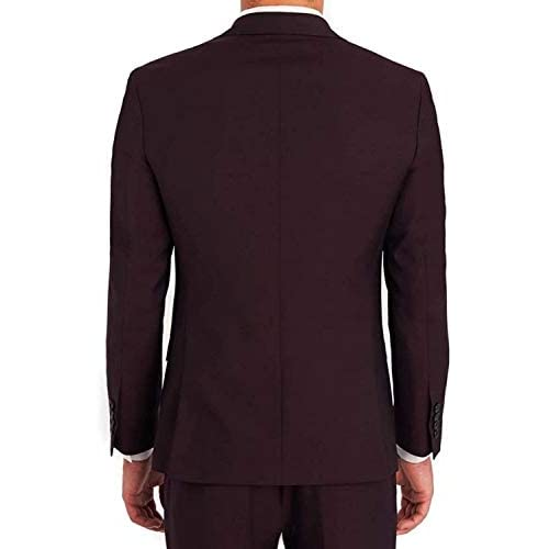 31sTXKIVFUL. SS500  - Creative concepts Men's Cotton Slim Fit Blazer (Wine, Large/40)