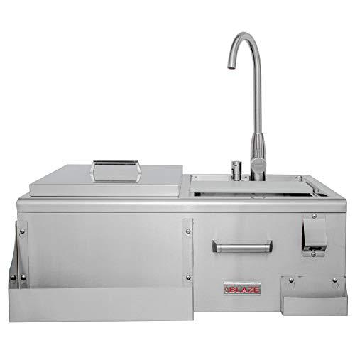 Blaze 30-inch Beverage Center With Sink & Ice Bin Cooler - ()
