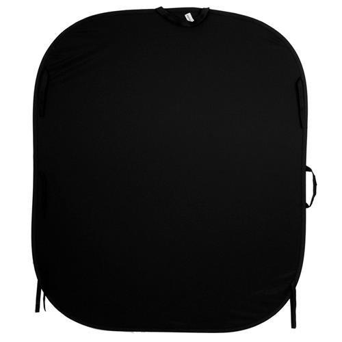 (LastoLite LL LB5602 5x6 Feet Collapsible One-Sided Velvet Background (Black))