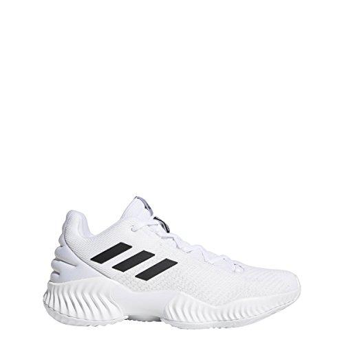 - adidas Men's Pro Bounce 2018 Low Basketball Shoe Black/Crystal White, 5.5 M US