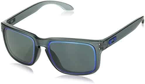 c38baf4a6f6 Oakley Men s Holbrook (a) Non-Polarized Iridium Rectangular Sunglasses
