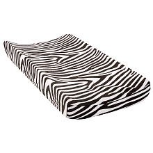 Babies'R'Us Changing Pad Cover - Black & White Zebra