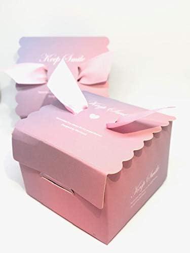 50 Cajas(Cajitas de carton) para detalles Boda, Cajitas para Comunion, Cumpleaños, Navidad, Fiestas infantiles, eventos. Cajitas prar regalos, bombones, chuches, caramelos. (Gradiente): Amazon.es: Hogar