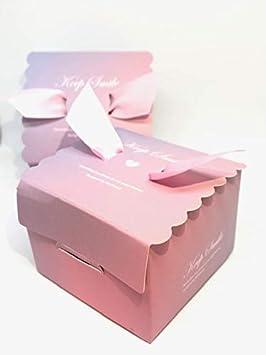 50 Cajas(Cajitas de carton) para detalles Boda, Cajitas para ...