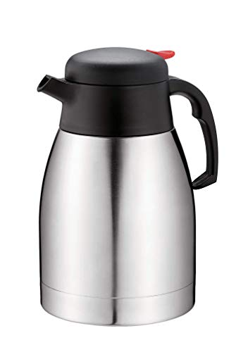 Premium Double Wall vacuum insulated Thermal Jug/ideal for Coffee, Tea, Milk with 1.2 Liters (41 fl. Oz) Capacity keeps liquids hot or cold (Ideal Milk)