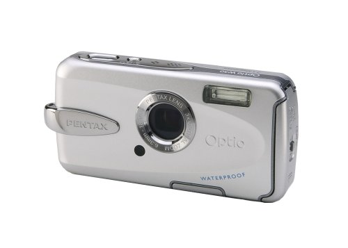 Pentax Optio W30 7.1 MP Digital Camera with 3x Optical Zoom Pentax Digital Waterproof Camera