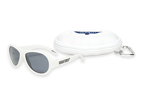 Babiators Gift Set - Wicked White Original Sunglasses (Ages 3-7+) and Cloud - Wicked Sunglasses