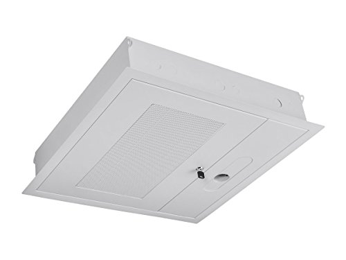 (Monoprice Entegrade 2 x 2 ft. False Ceiling Equipment Storage Enclosure with Integrated Pipe Coupler)
