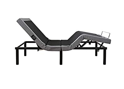 LEISUIT Electric Adjustable Bed Base with Wireless Remote Control,USB Ports,Zero Gravity and No Tools Required