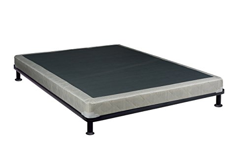 Continental Sleep Size 4'' Fully Assembled Foundation for Mattress, Queen by Continental Sleep