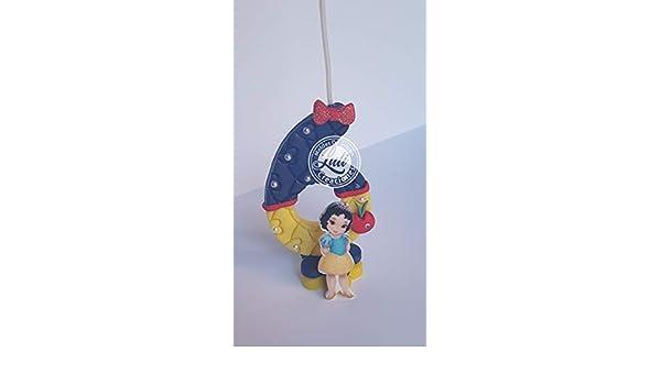 Vela decorada porcelana fría Inspirada en Blanca Nieves ...