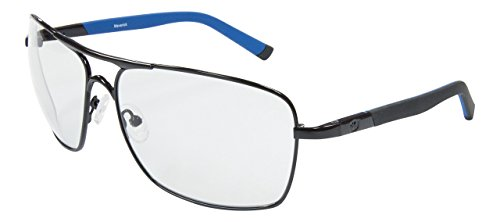 Maverick Aviator Black frame with Transition day-night transforming - Outlaw Sunglasses
