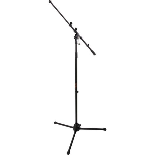 Auray MS-5230T Tripod Microphone Stand with Telescoping Boom (Telescoping Microphone Boom)