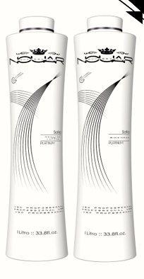 Safira - #1 Formaldehyde Free Brazilian Keratin Hair Straightening Treatment - Set of 2 - Shampoo (1L) Volume Reducer (1L) 15+ Applications