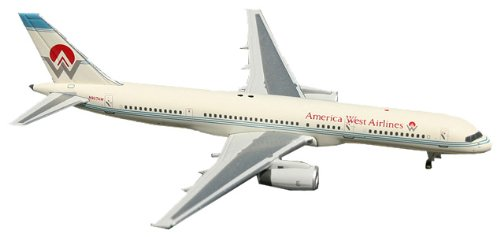 Gemini Jets America West (Old C/S) B757-200 1:400 Scale (West Airlines America Gemini)
