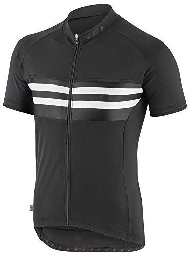 (Louis Garneau Men's Classic Cycling Jersey, White Stripe, X-Large)