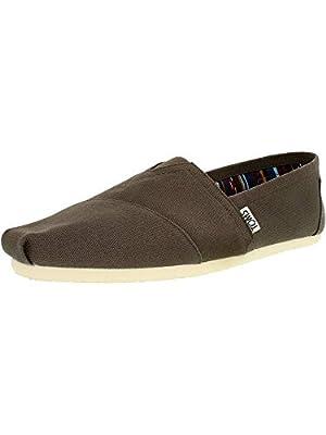 TOMS Men's Alpargata Canvas Ankle-High Flat Shoe