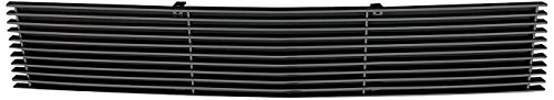 TRex Grilles 25027B Horizontal Aluminum Black Finish Billet Bumper Grille Overlay for Chevrolet Camaro RS ()