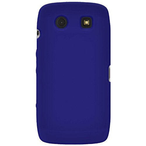 Amzer Silicone Skin Jelly Case for BlackBerry Torch 9850/9860 - Blue Blackberry Torch Silicone Skin
