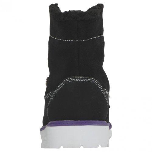 Lugz Womens Brigade Fold Boots Nero / Viola / Bianco