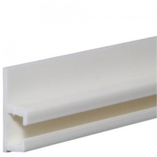 amazoncom sliderite plastic curtain track 8 feet white home u0026 kitchen