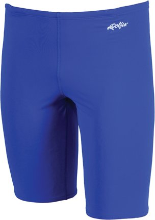DOLFIN MENS XTRA LIFE LYCRA JAMMER SOLID ROYAL SIZE - Royal Blue Jammers