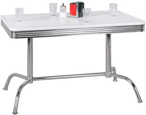 Table de Salle /à Manger ELVIS 120 cm American Diner