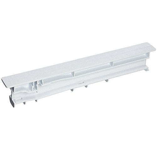 Whirlpool WPW10671238 Refrigerator Drawer Slide Rail, White
