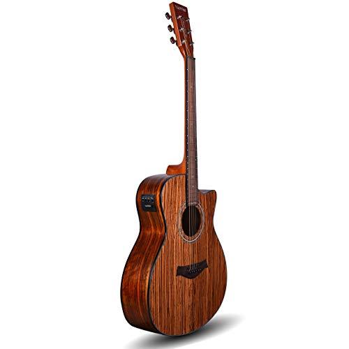 Kadence-Acoustica-A05-semi-acoustic-guitar-Zebra-Wood-with-Bag