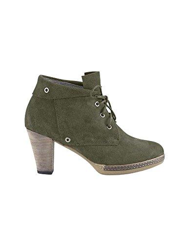 Botas de piel chillany gris - gris