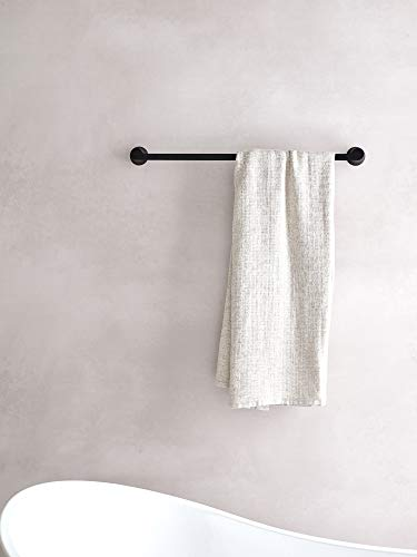 Moen YB0224BL Doux Collection 24'' Towel Bar Matte Black by Moen (Image #3)