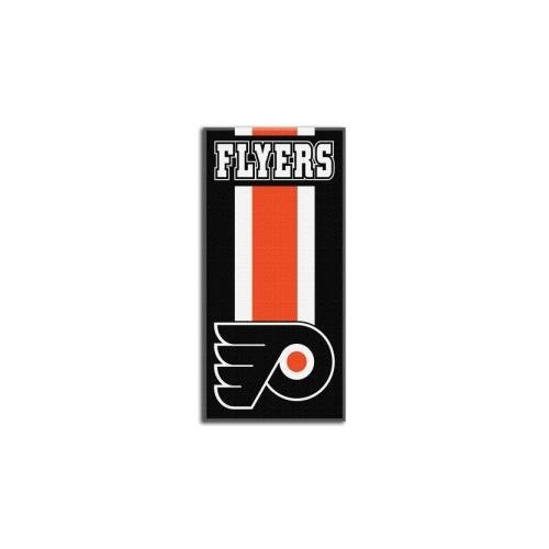 "The Northwest Company Officially Licensed NHL Philadelphia Flyers Zone Read Beach Towel, 30"" x 60"""