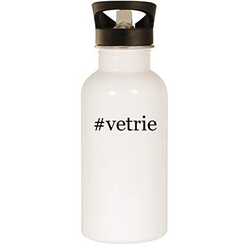#vetrie - Stainless Steel Hashtag 20oz Road Ready Water Bottle, White